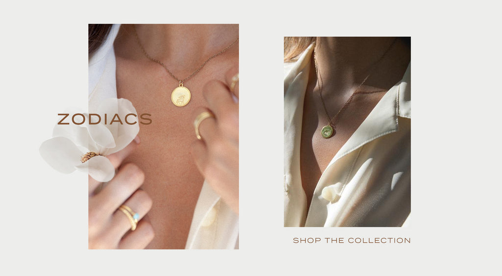 gold and sterling silver zodiac collection