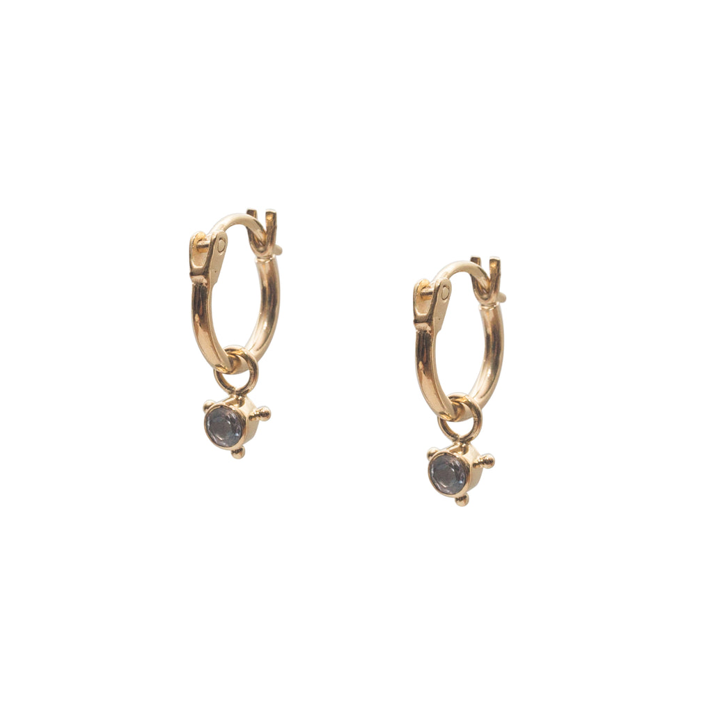 Stardust Element Hoops Air Gold