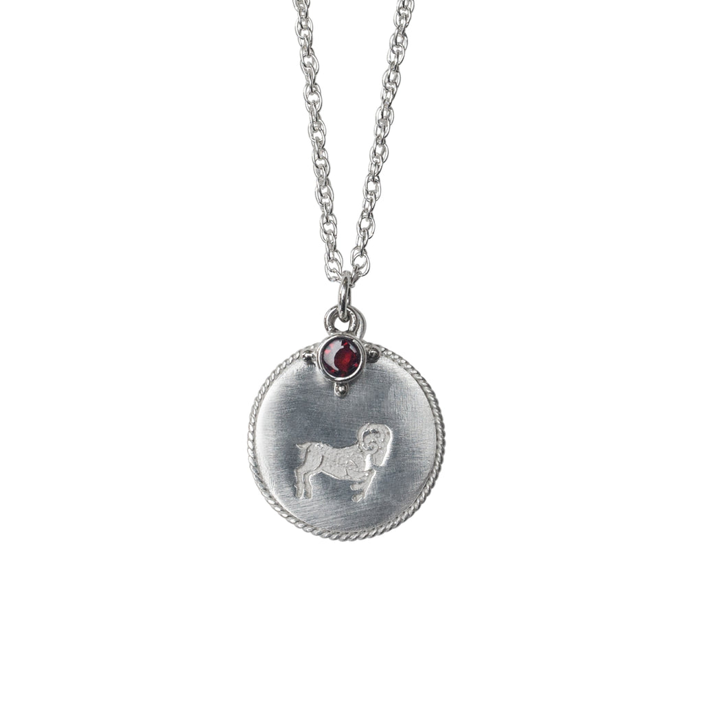 Stardust Aries Necklace Silver