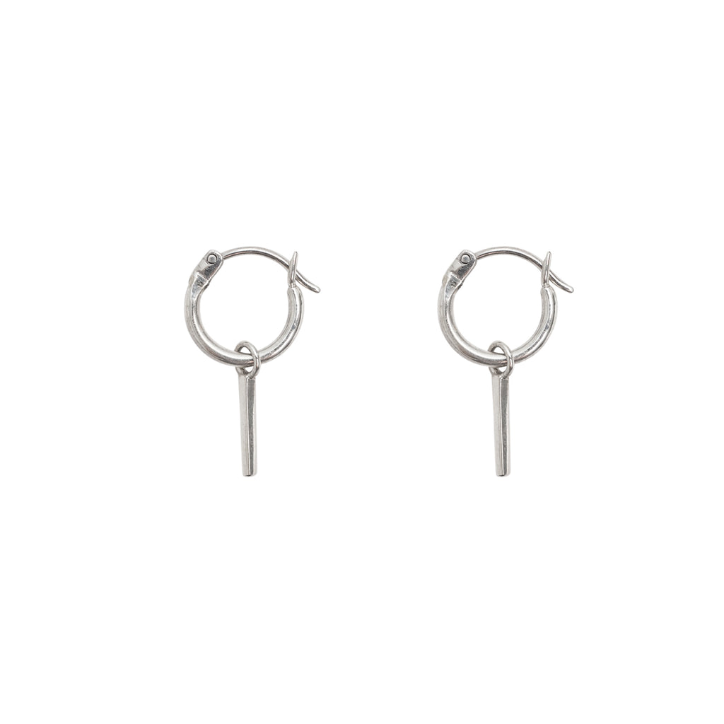 Small silver hoop earrings - Sterling silver hoop earrings - Stevie Jean Jewellery