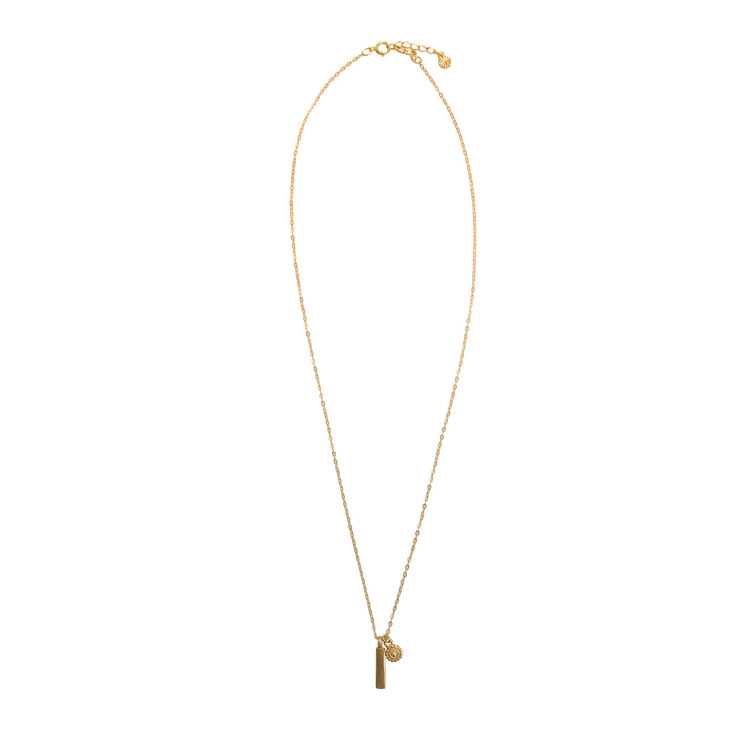 fine gold necklace for women - 14k Gold Vermeil Sterling Silver 1