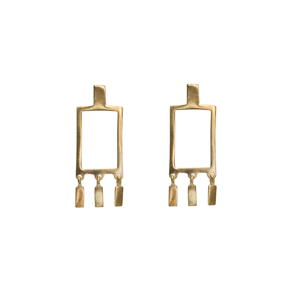 Sunella Earrings Gold