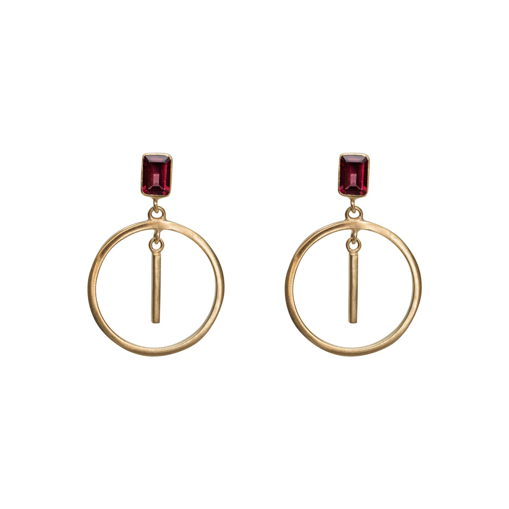 Palazzo Earring Gold