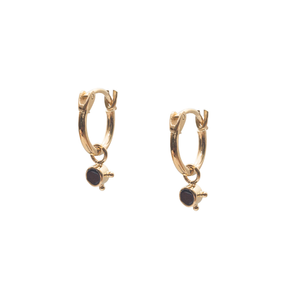 Stardust Element Hoops Fire Gold