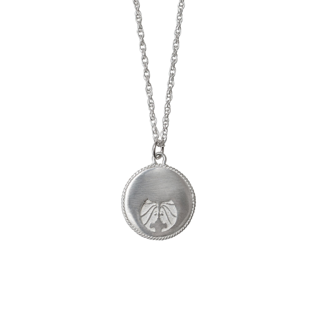Stardust Gemini Necklace Silver