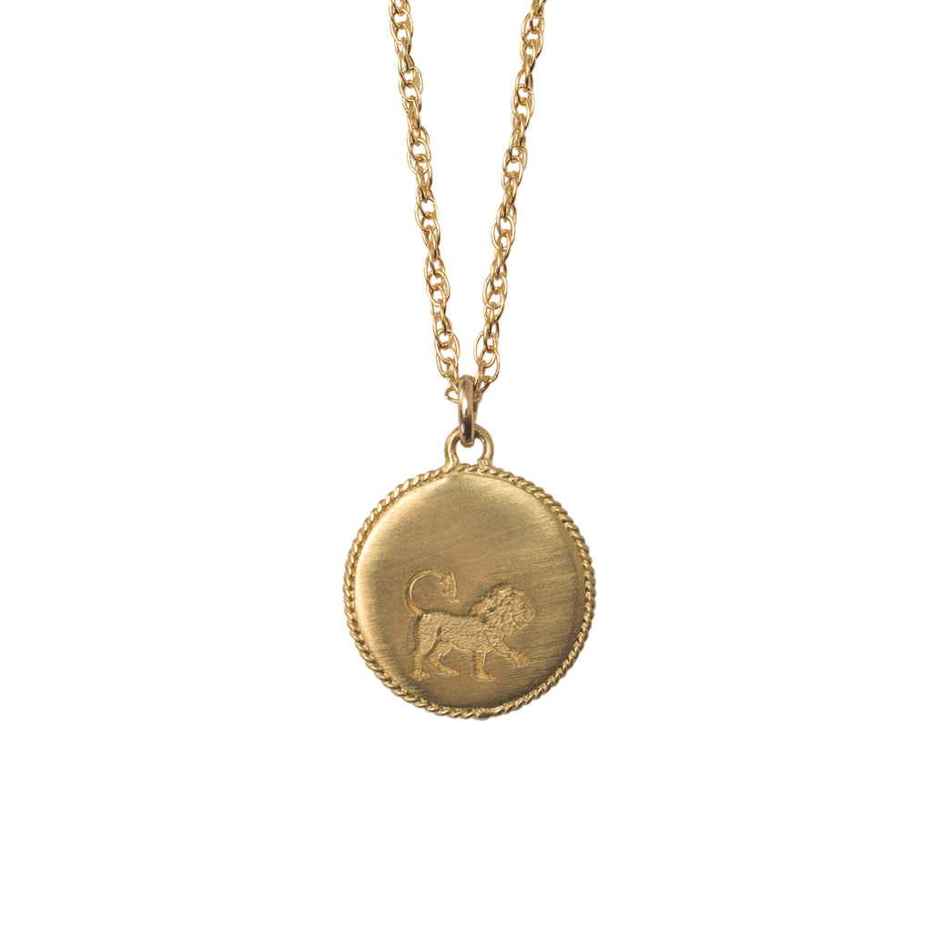 Stardust Leo Necklace Gold