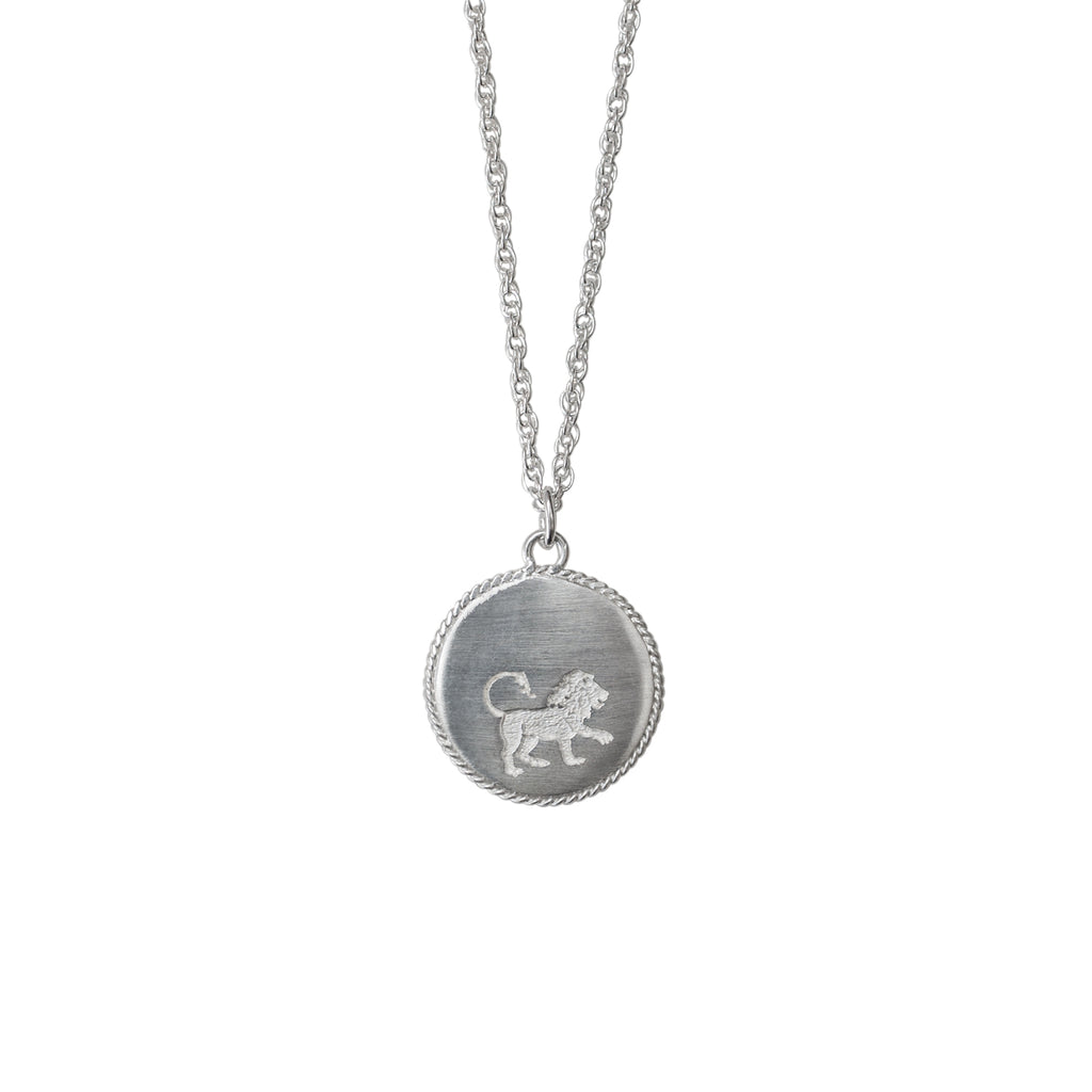 Stardust Leo Necklace Silver