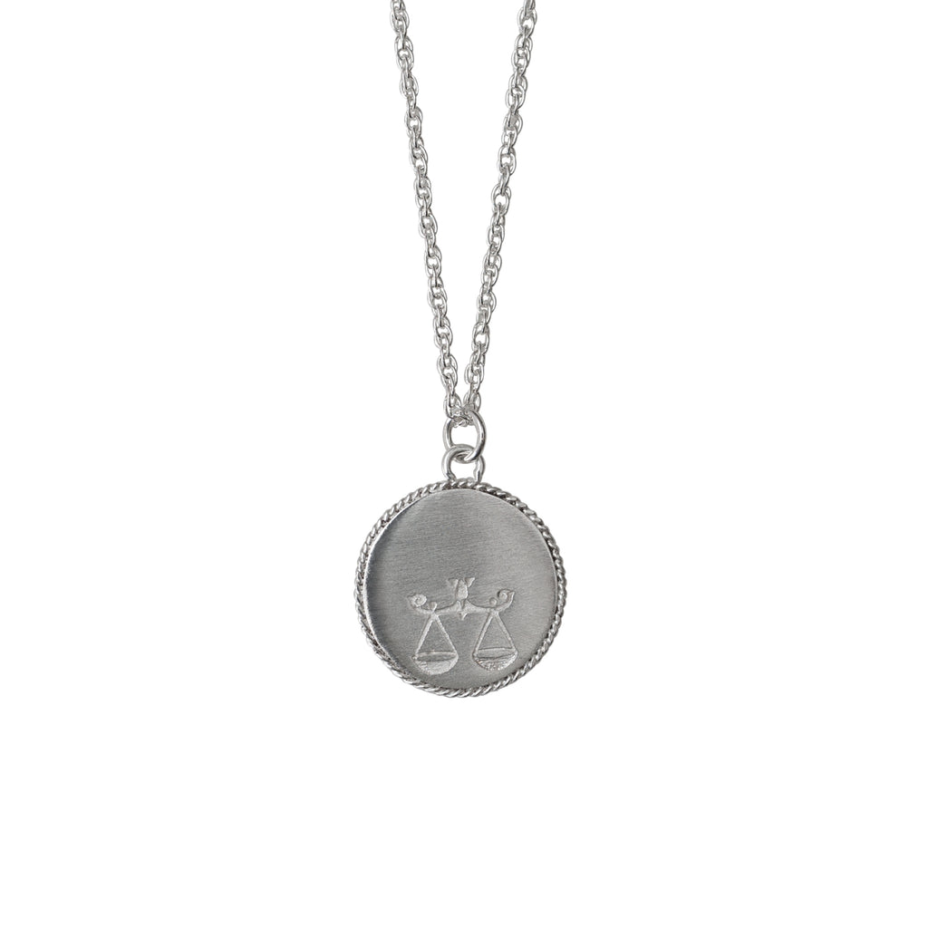 Stardust Libra Necklace Silver