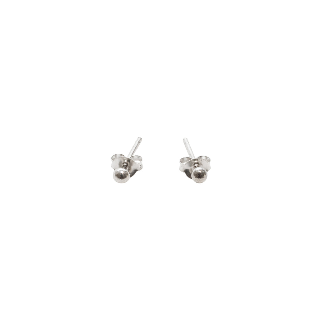 Sterling silver studs - Silver earrings - Stevie Jean Jewellery