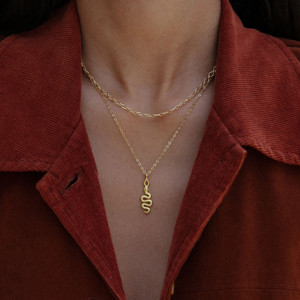 Medina Necklace Gold
