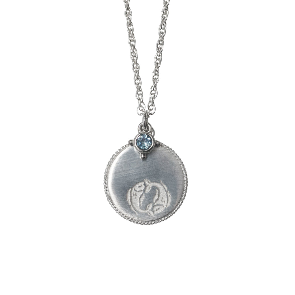Stardust Pisces Necklace Silver