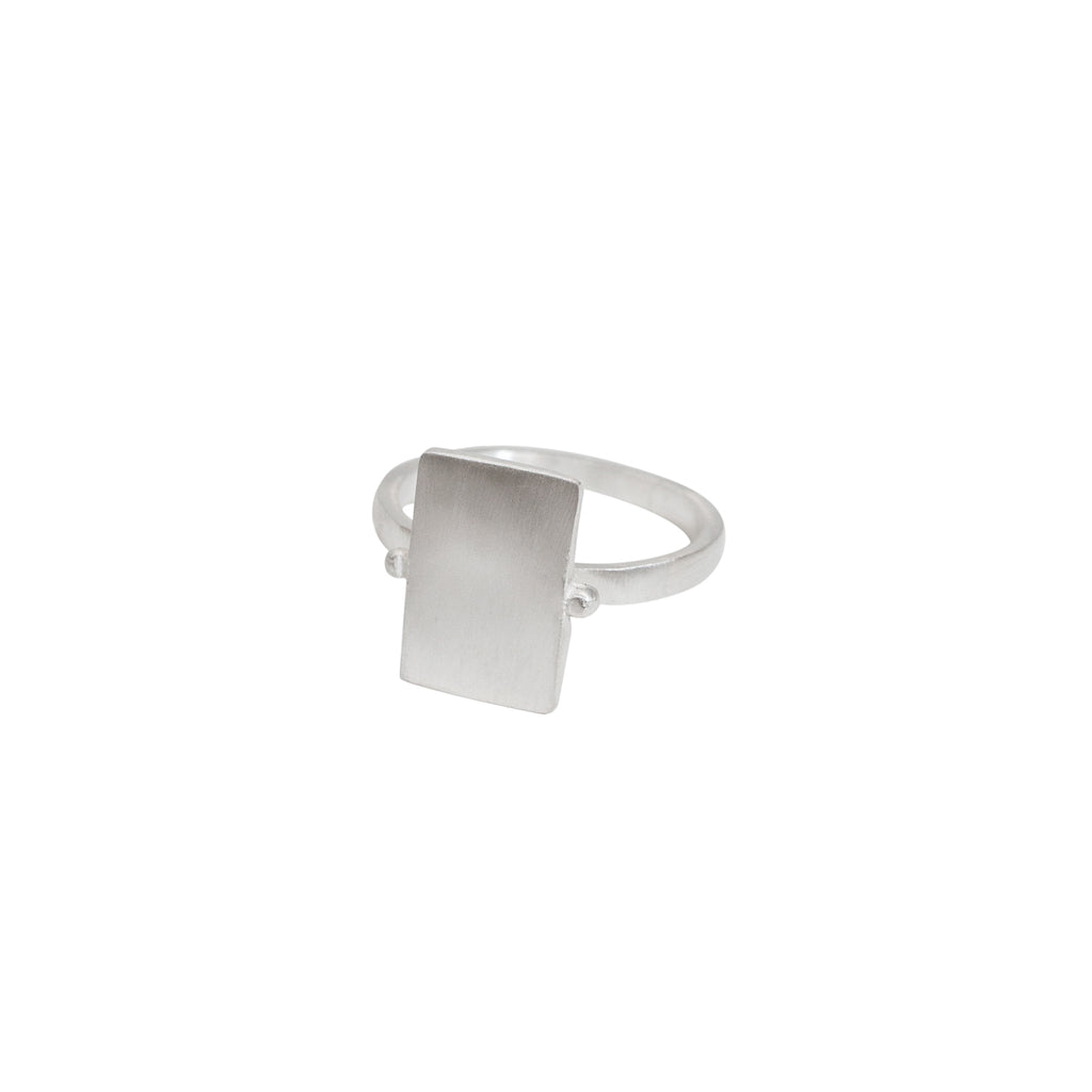 Statement silver ring - Sterling silver statement ring - Stevie Jean Jewellery