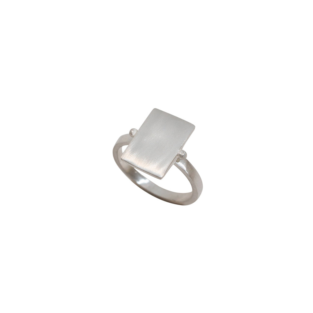 Statement silver ring - Sterling silver statement ring - Stevie Jean Jewellery 1