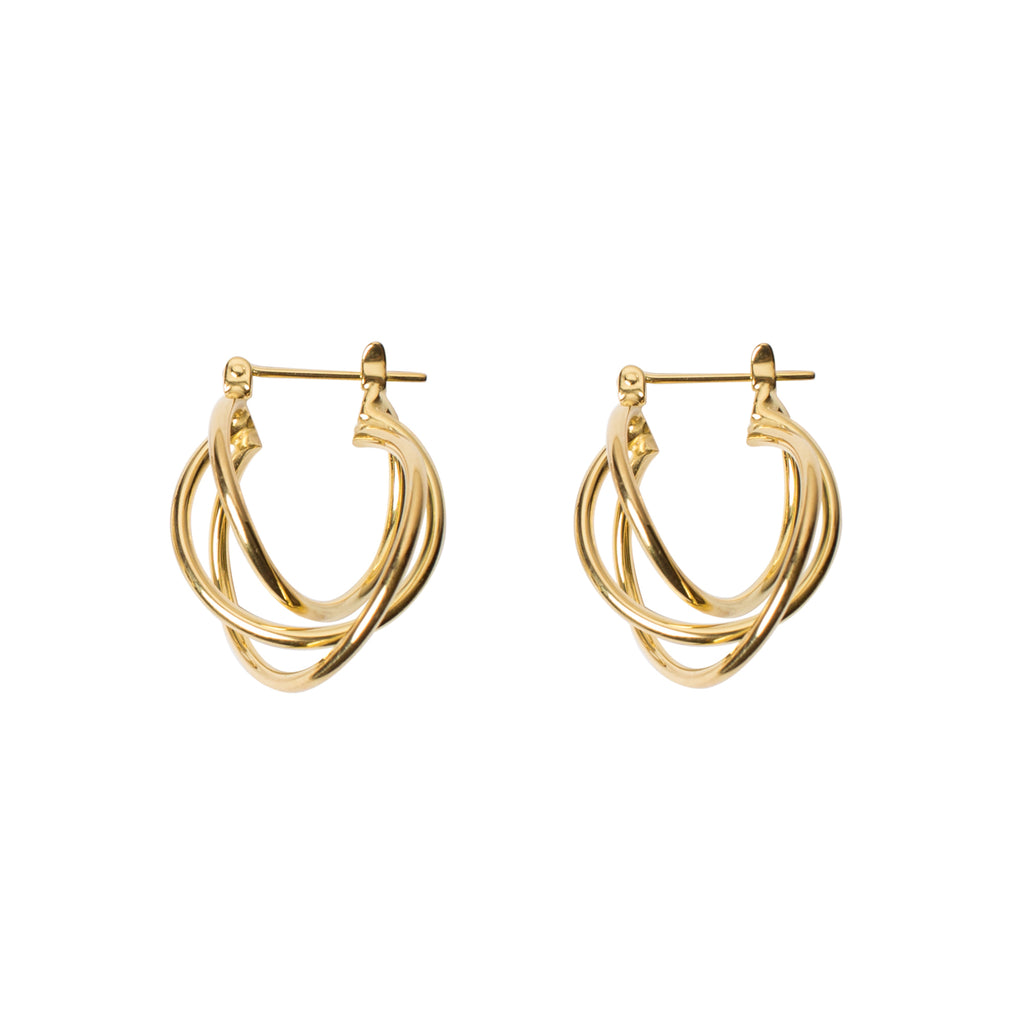 gold-statement-earrings gold-earrings large-earrings golden-years-collection wild-heart-jewellery