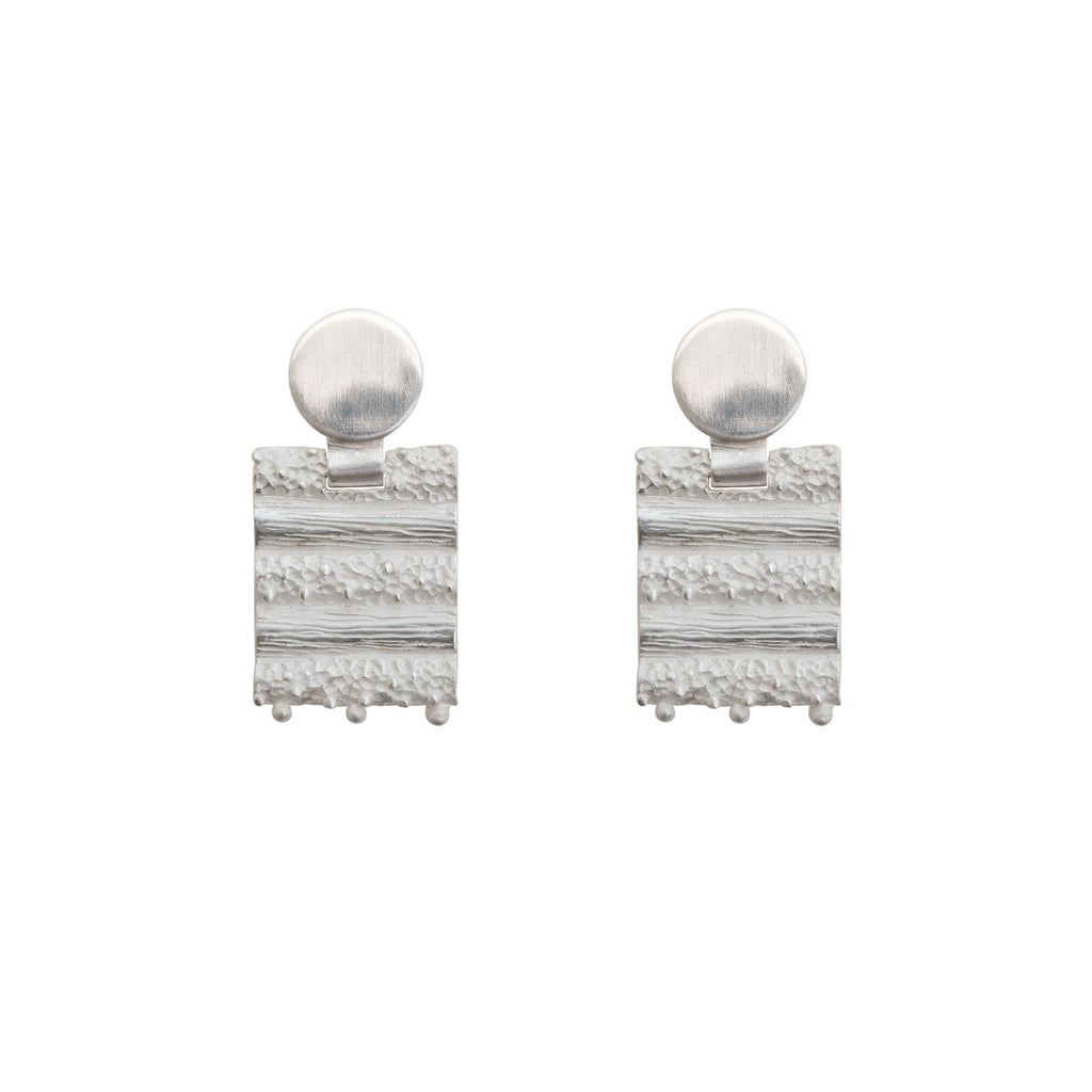 Sterling silver statement studs - Stevie Jean Jewellery
