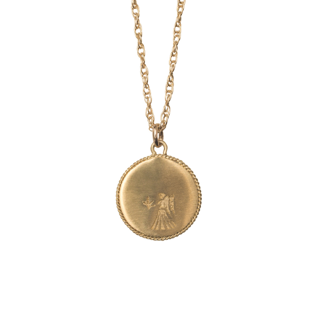 Stardust Virgo Necklace Gold | Pre-Order