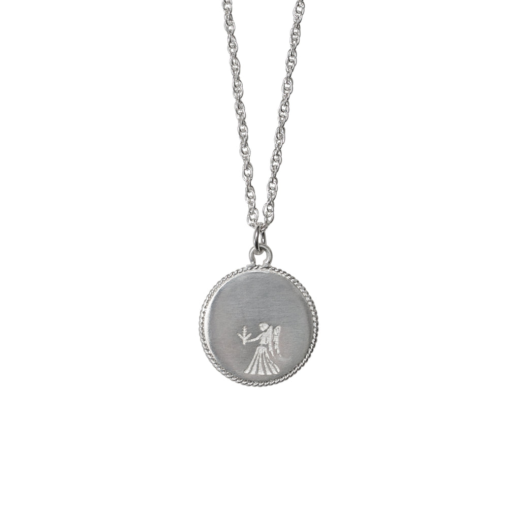 Stardust Virgo Necklace Silver