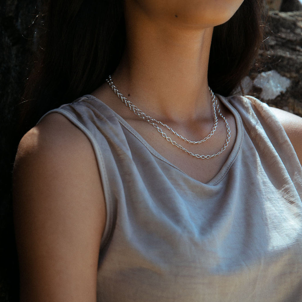 Virtue Necklace Silver