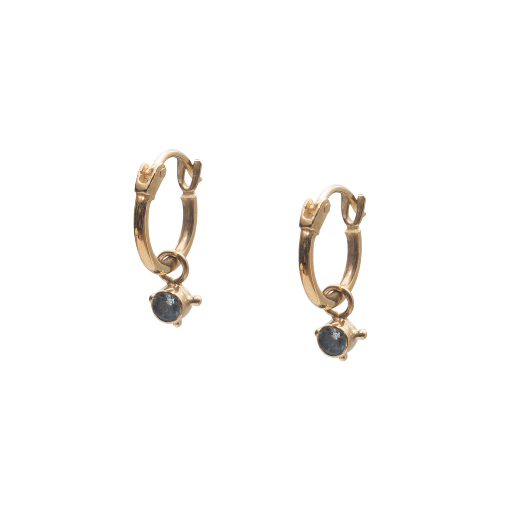 Stardust Element Hoops Water Gold