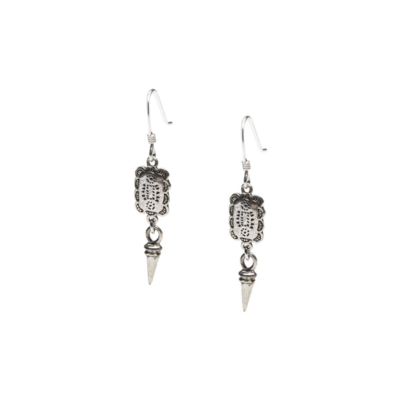 Casa-Earrings Sterling-Silver Havana-Collection Wild-Heart-Jewellery