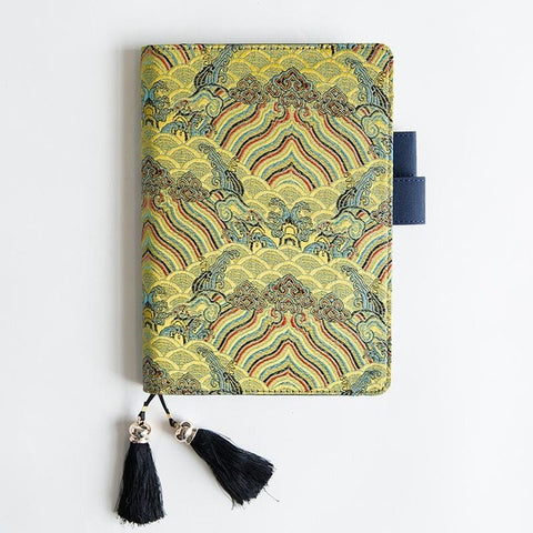 Hobonichi Techo Inspired Yellow Sky Notebook Cover