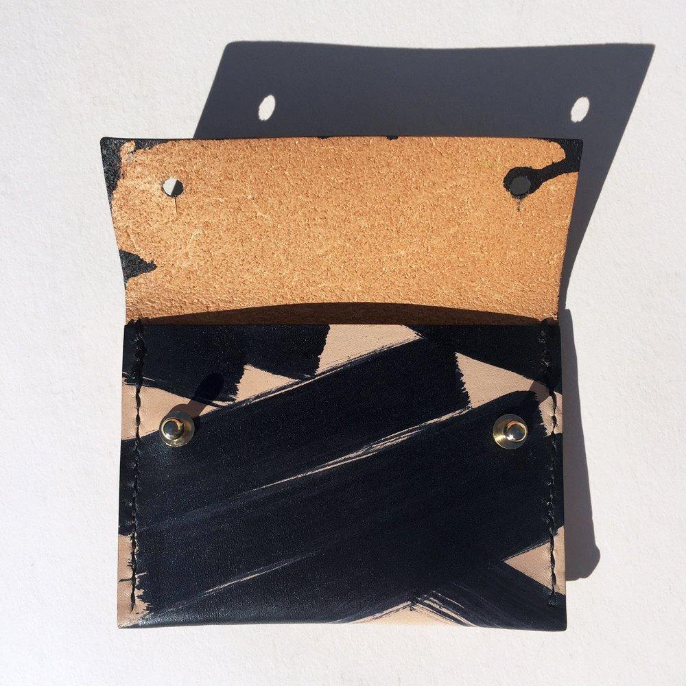 monochrome card holder