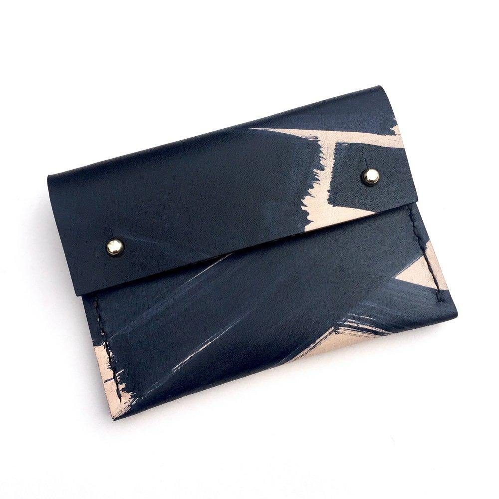 Hand-painted card holder