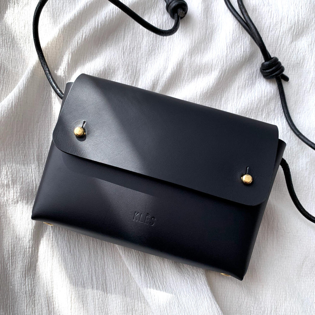Leather mini bag