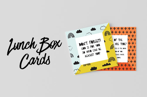 Lunch Box Printables - Instant Download