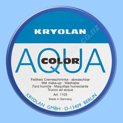 Aquacolor Cake 55ml <br>Matte White