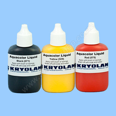 Aquacolor Liquid <br>Team Colours Sets