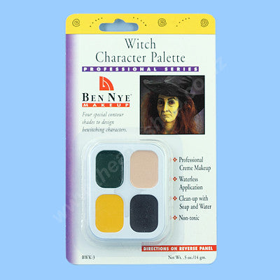 Witch Character Palette <br>4-Colours BWK-3