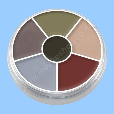 Kryolan Cream Colour Circle Death Wheel