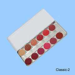 Lip Rouge Palette <br>12-Colours Classic