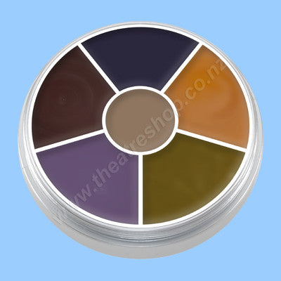 Kryolan Cream Colour Circle Bruise Wheel