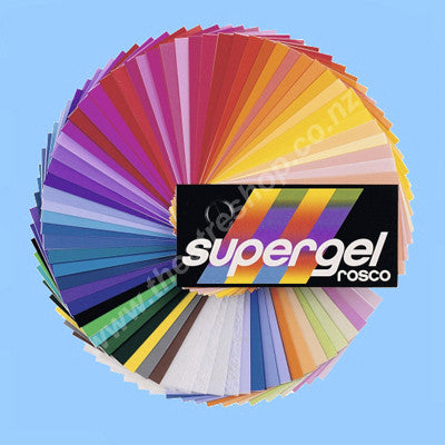 Supergel Sheets <br>Colours #300 to #399