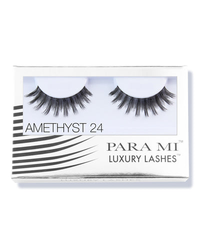 Luxury Lashes Eyelashes - Amethyst 24