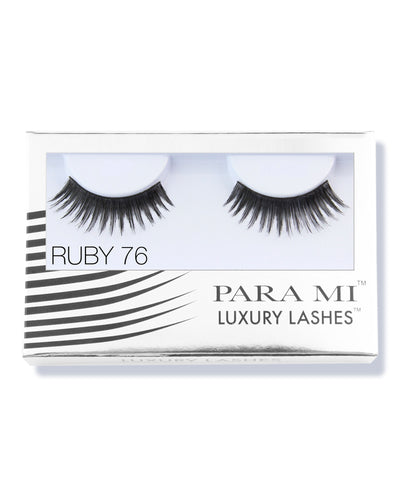 Luxury Lashes Eyelashes - Ruby 76