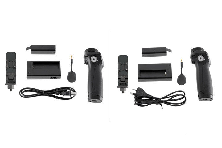 Osmo Handle Kit (Includes Battery, Charger and Phone Holder. Gimbal and Camera not included.)