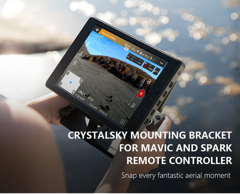 PGYTECH CrystalSky Remote Controller Mounting Bracket for Mavic & Spark