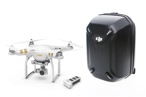 Phantom 3 Professional with Extra Battery and DJI Hardshell Backpack