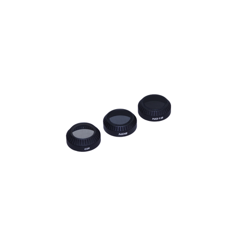 Polar Pro - DJI Mavic Filter 3-Pack: CP, ND8, ND16 (Filter Hard Case Included)