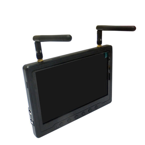FPV 5.8Ghz Diversity Monitor 7inch - HD 8 Channel