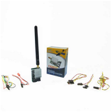 FLYSIGHT TX5804 5.8 GHZ 32 CHANNEL LONG RANGE VIDEO TX WITH ANTENNA/CABLES - 400MW