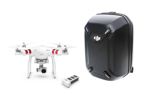Phantom 3 Standard with Extra Battery and Hardshell Backpack