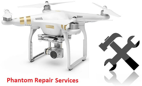 Phantom 4 & 3 Repair Services