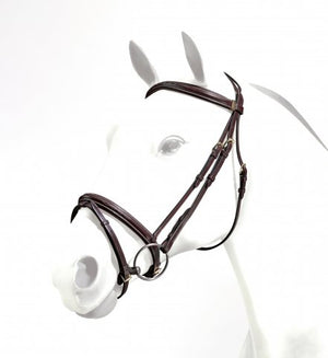 Equipe Emporio Flash Bridle with Stitching