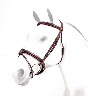 Equipe Emporio Flash Bridle with Rolled Browband