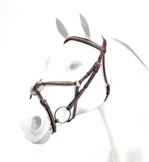 Equipe Emporio Grackle Bridle with Clincher Browband