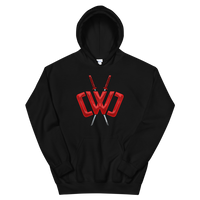 Liquid Logo Black Hoodie - Youth